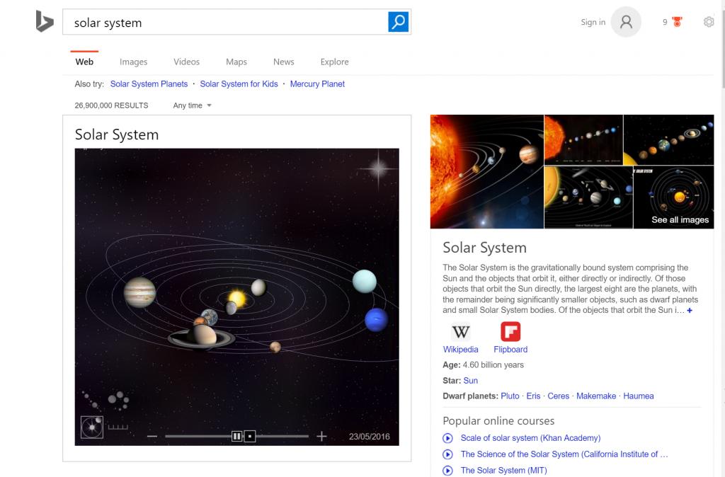 solar-system-bing
