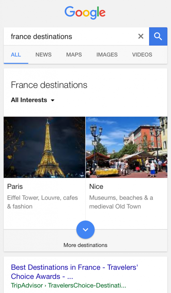 google-search-france-destinations