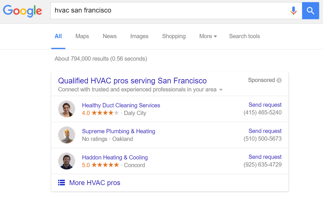 hvac-san-francisco-google